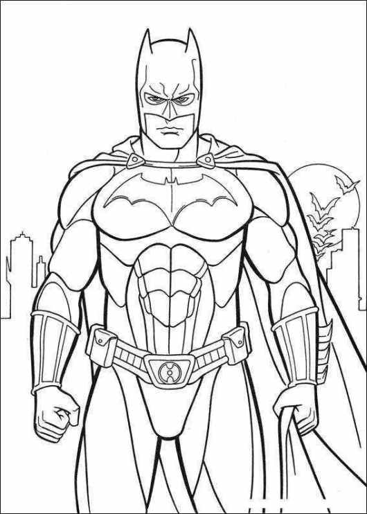 5tf free online printable batman coloring pages 4534