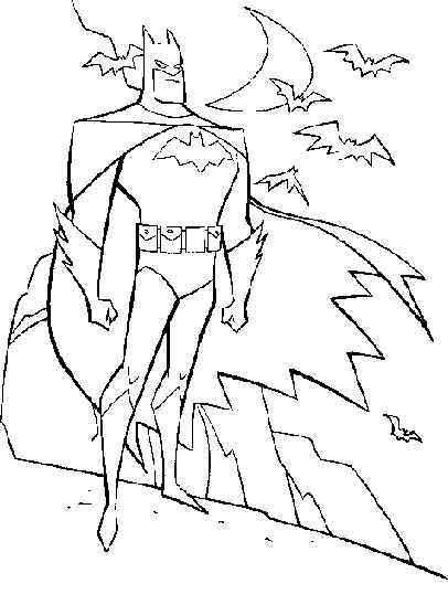 asd batman coloring pictures online 234291