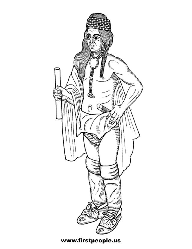 American Indian Heritage Month Coloring Pages