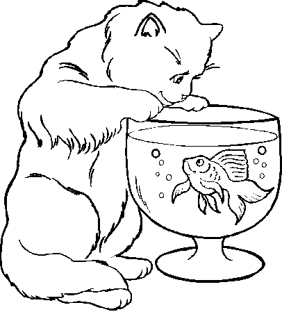 cat-and-fish-coloring-pages