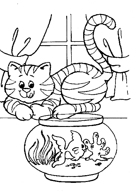funny-cat-coloring-pages