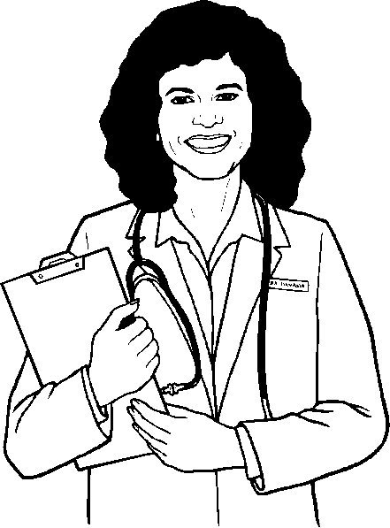 Doctor Coloring Pages for Understanding Kids Why do They