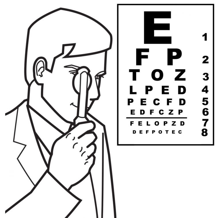 eye-doctor-colouring-pages
