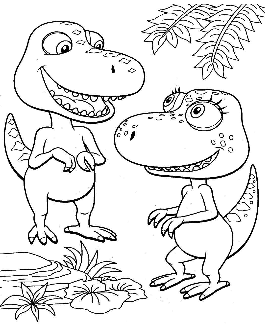 dino_train_coloring_pages