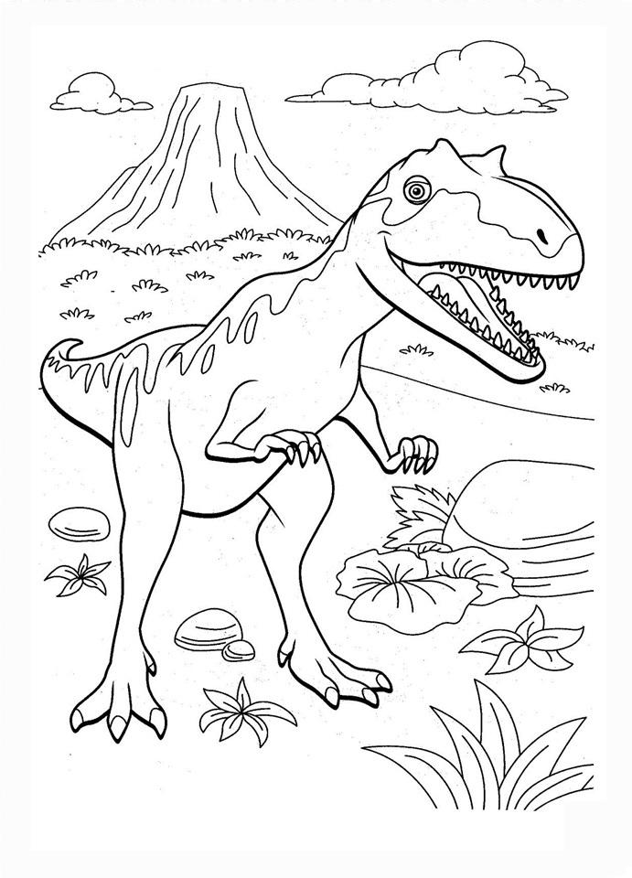 dinosaurs coloring pages coloring pages dinosaur train