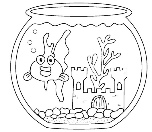 aquarium-goldfish-coloring-pages