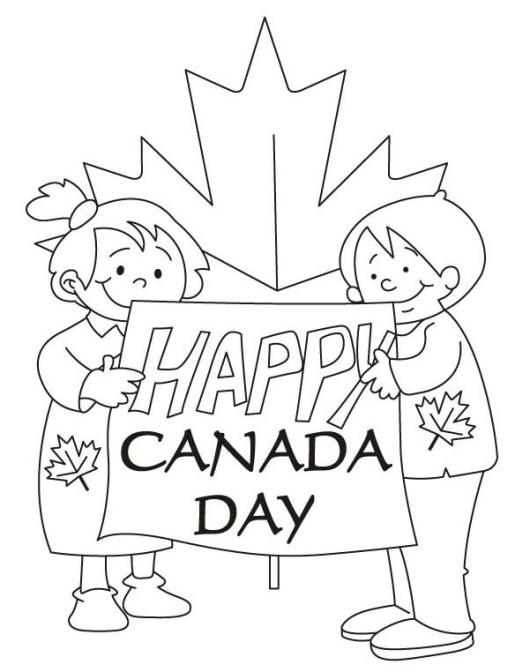canada-day-coloring-page
