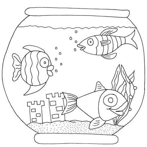 fish-in-tank-coloring-pages