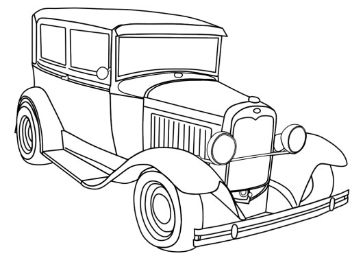 old-antique-car-coloring-pages