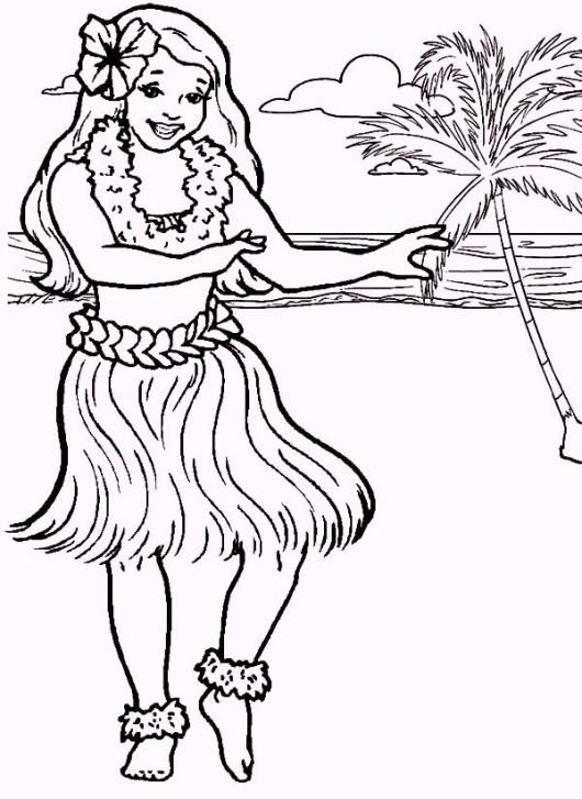 hula-hawaiian-girl-dancing-coloring-pages