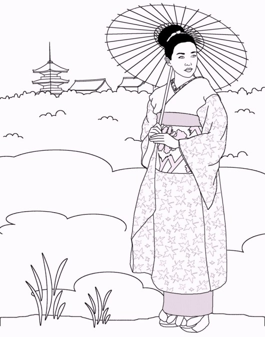 japanese-traditional-outfit-coloring-page