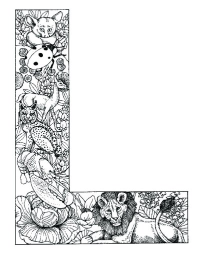 coloring_pages_animal_plant_abc_alphabet_L
