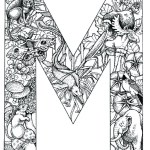 coloring_pages_animal_plant_abc_alphabet_M