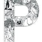coloring_pages_animal_plant_abc_alphabet_P