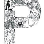 coloring_pages_animal_plant_abc_alphabet_P