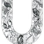 coloring_pages_animal_plant_abc_alphabet_U