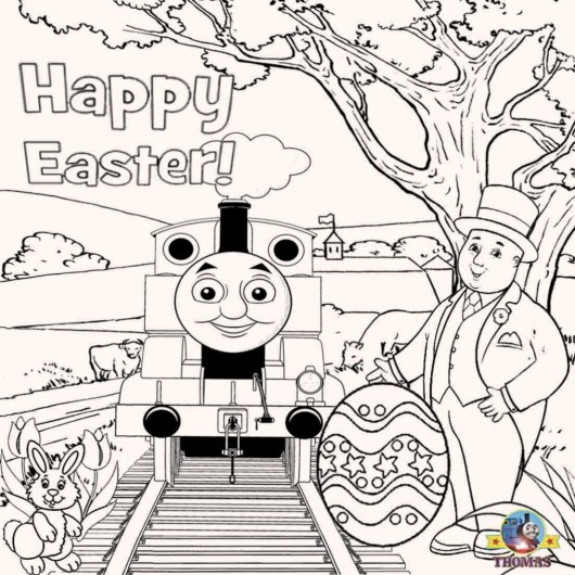 thomas-the-train-easter-coloring-pages-for-kids