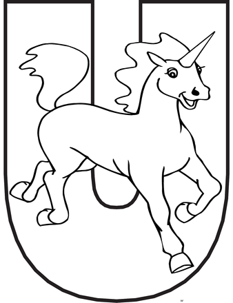 u-for-unicorn-alphabet-coloring-pages