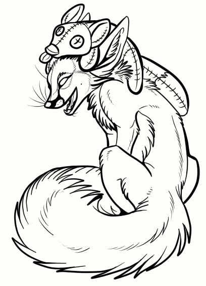 fox_coloring_pages_to_print