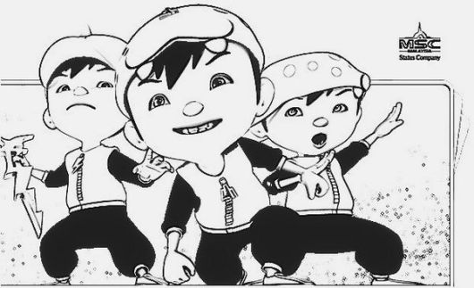 top-boboiboy-3-coloring-pages