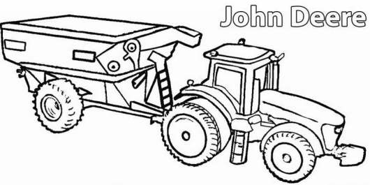 free farm equipment coloring pages - photo#36