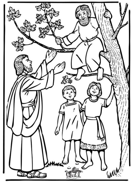 jesus-and-zacchaeus-coloring-page-printable