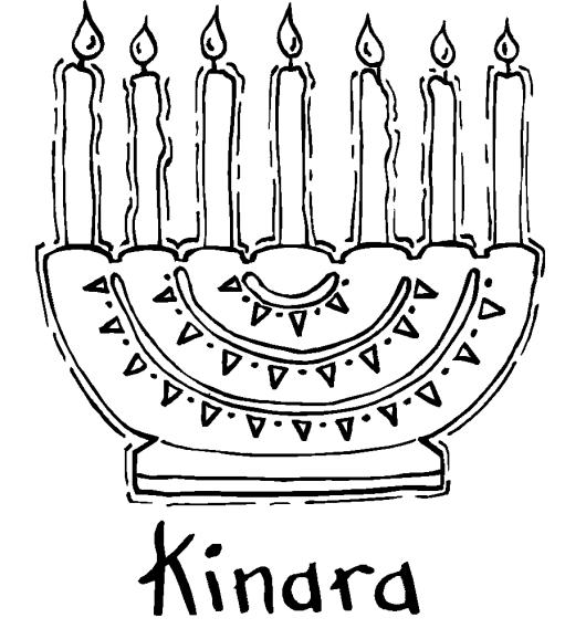 Kwanzaa Coloring Pages 7 Principles Kwanzaa