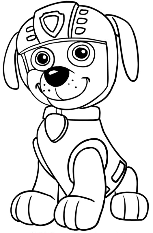 Top 10 Paw Patrol Nick Jr Coloring Pages Coloring Pages