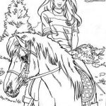 barbie-horse-coloring-picture