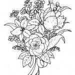 flower-bouquet-coloring-sheet