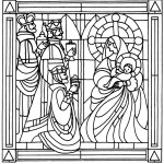 stained-glass-chatolic-ornament-coloring-book