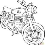 the-old-Motorcycle-coloring-page