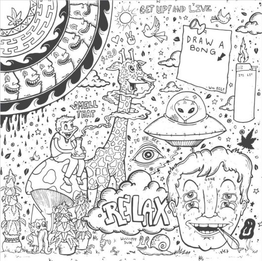 trippy-coloring-book