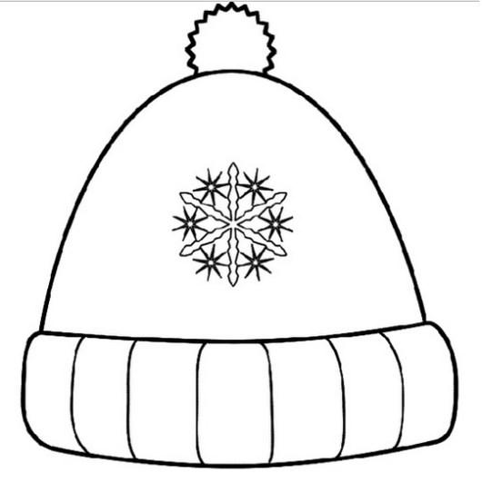 winter-hat-coloring-sheet