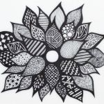 zentangle-flower-coloring-picture