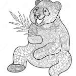 zentangle-panda-clipt-art
