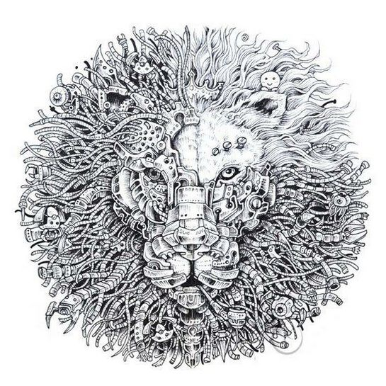 Mythomorphia-coloring-book-author-Kerby-Rosanes
