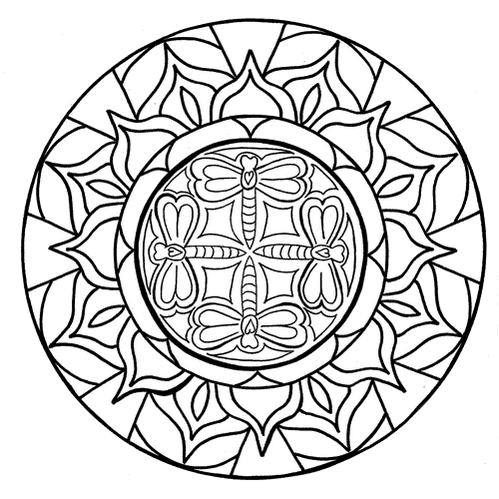 dragonfly-mandala-coloring-sheet