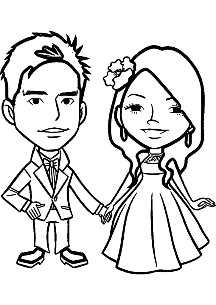 marriage-anniversary-coloring-page