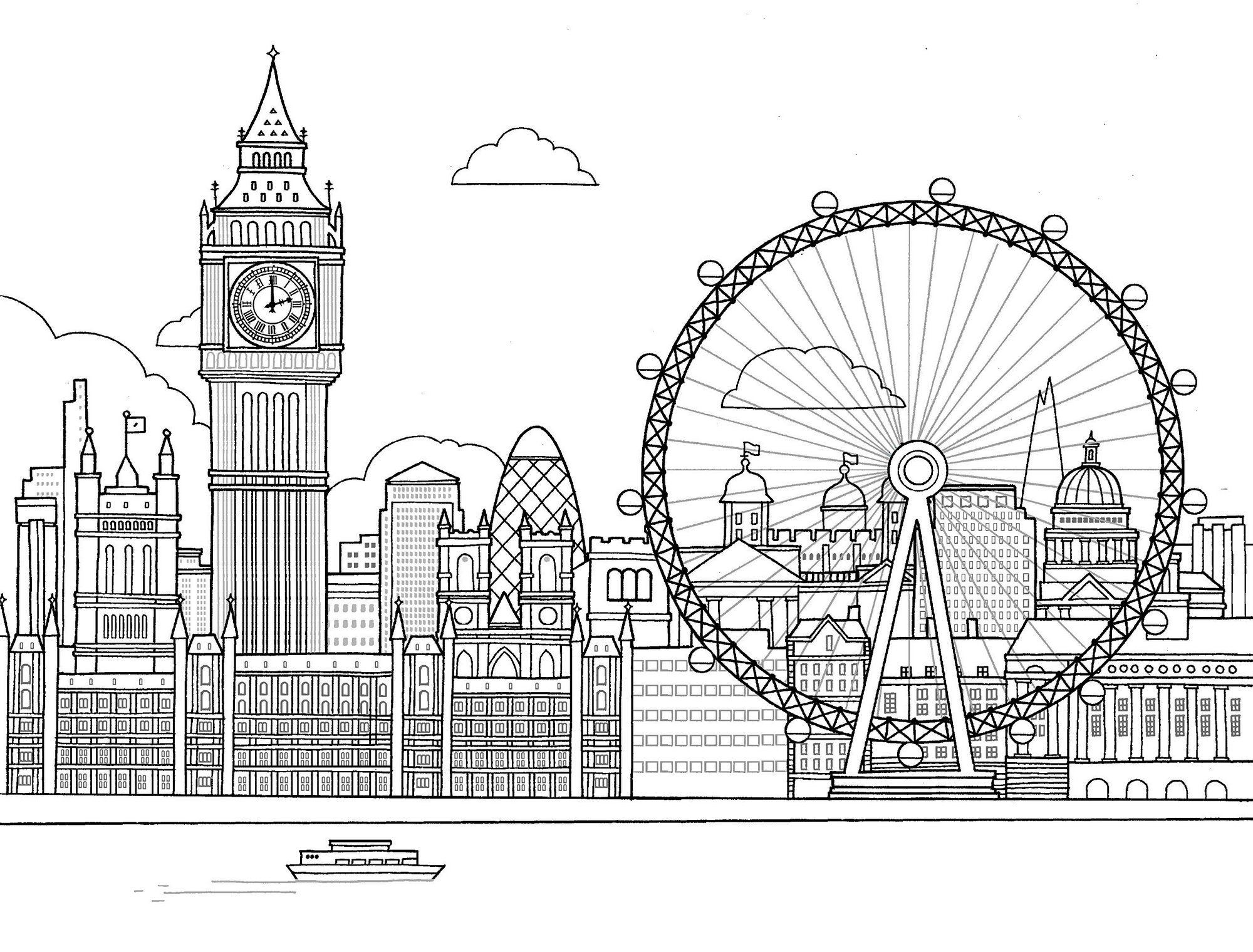 the-London-Eye-Coloring-Page