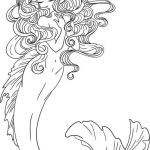 Beautiful-Realistic-Mermaid-Illustrations-Coloring-Pages