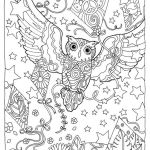 owl-and-kite-mandala-coloring-page