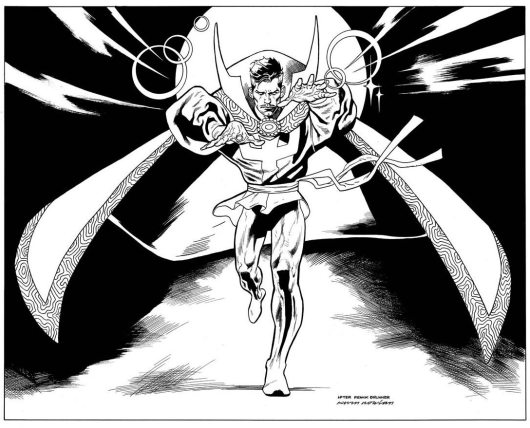 Doctor Strange Coloring Page Printable