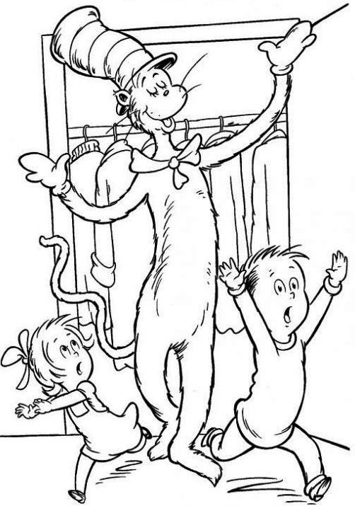 Dr Seuss Drawing