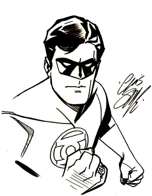 Green Lantern Superhero American Comic Book