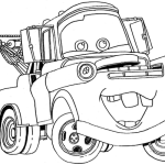 Mater Car Coloring Pages To Print