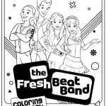Fresh Beat Band Of Spies Characters Coloring Pages