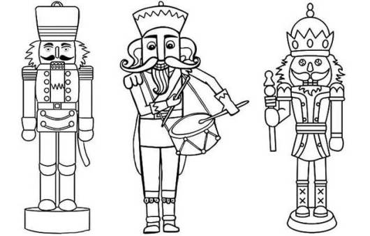 Nutcracker coloring pages to print coloring pages for Nutcracker ballet coloring pages