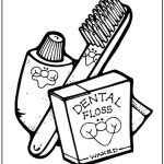 Toothbrush Coloring Pages To Print