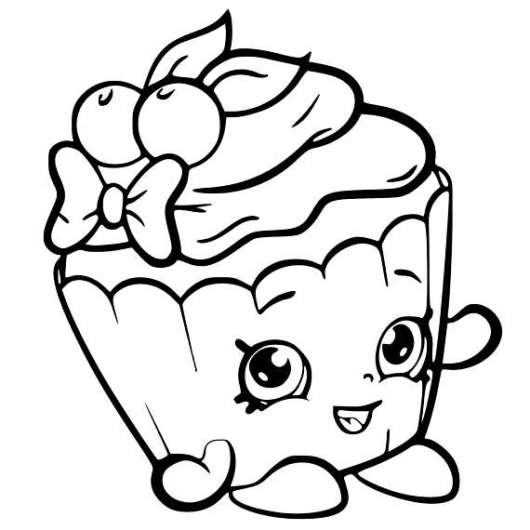 Top 8 Super Cute Shopkins Coloring